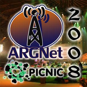 ARGNet @ PICNIC 08 Logo