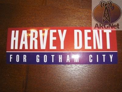 Harvey dent campaign swag