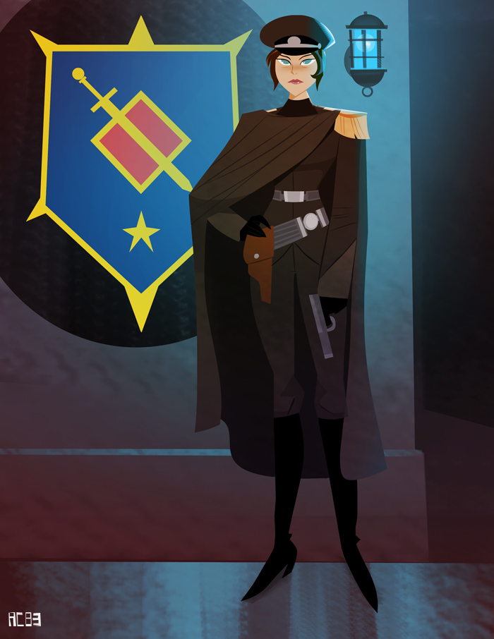 Major Sonja Slade of the Prussian Army